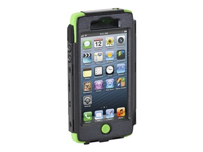 Targus SafePORT Max Pro Hard case for cell phone silicone, polycarbonate green