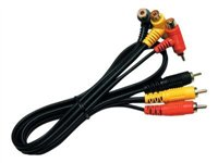 Linear 2347 Video / audio cable composite video / audio RCA (M) to RCA