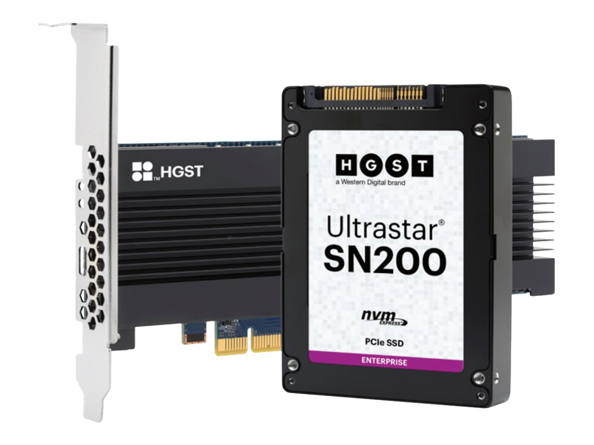 HGST Ultrastar SN200 HUSMR7676BDP3Y1 - solid state drive - 7.68 TB - PCI Express 3.0 x4 (NVMe)