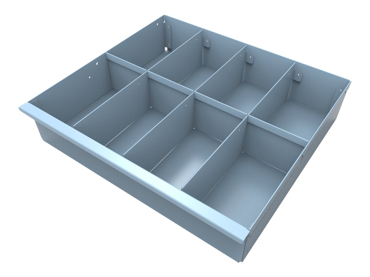 JACO Drawer Insert Tray,8 Compartment, No Lids - mounting component