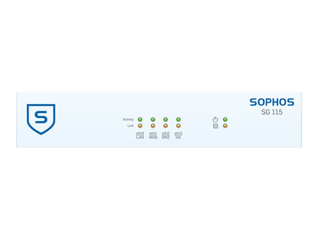 Sophos SG 115 - security appliance - with 3 years TotalProtect
