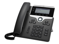 Cisco IP Phone 7821 - VoIP phone - SIP, SRTP - 2 lines