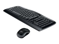 Logitech Wireless Desktop MK320 Keyboard and mouse set wireless 2.4 GHz