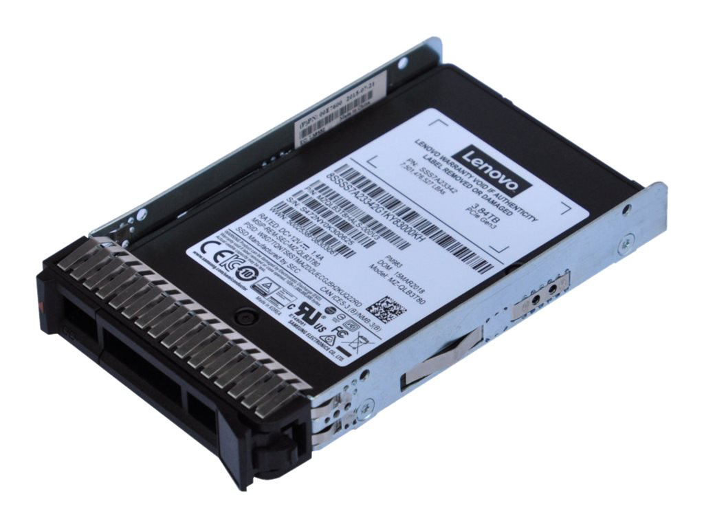 Lenovo PM983 Entry - solid state drive - 1.92 TB - U.2 PCIe 3.0 x4 (NVMe)