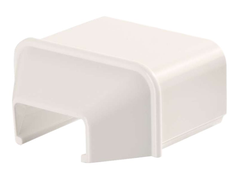 C2G Wiremold Uniduct 2900 to 2700 Reducing Connector - Fog White - cable raceway reducer
