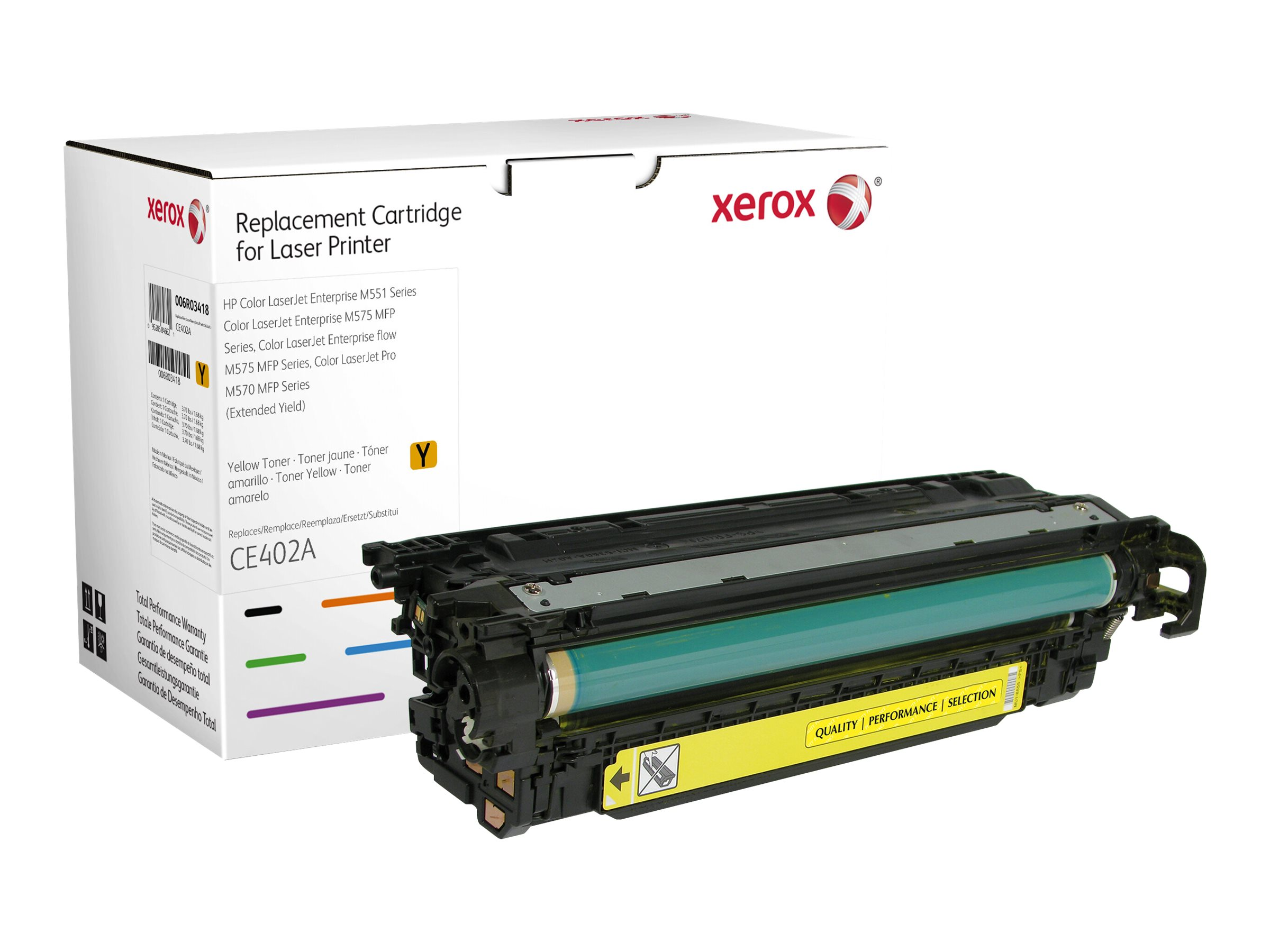 Xerox - Extended Yield - yellow - toner cartridge (alternative for: HP CE402A)