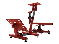 Arozzi Velocità Gaming chair wheel/pedals stand metal red