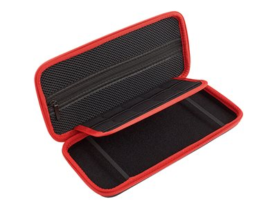 Verbatim Carrying Case Case for game console ethylene vinyl acetate (EVA) black, red
