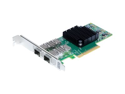 ATTO FastFrame N322 Network adapter PCIe 3.0 x8 25 Gigabit SFP28 x 2