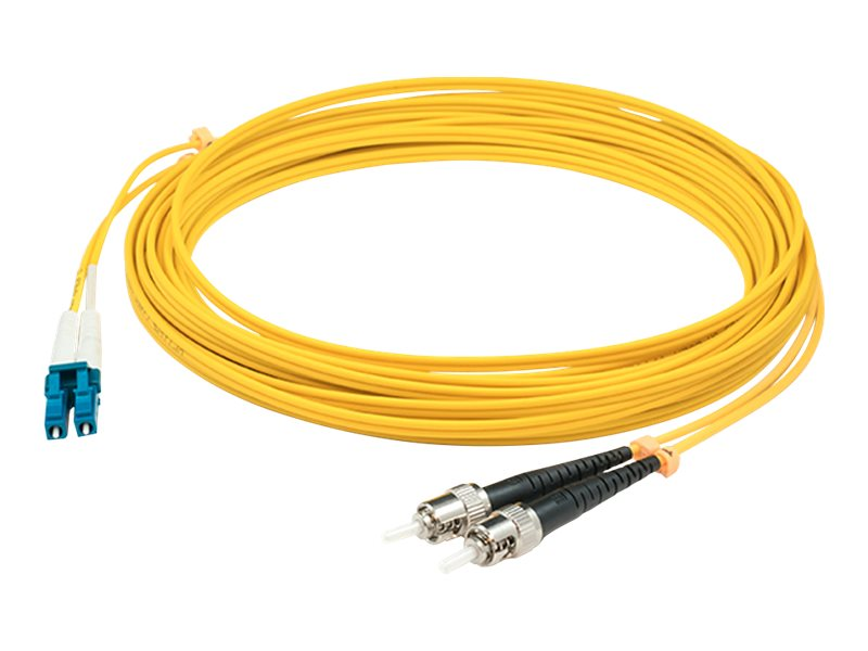 AddOn 10m LC to ST OS1 Yellow Patch Cable - patch cable - 10 m - yellow