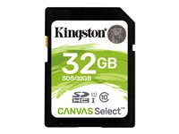 Kingston Canvas Select - Flash memory card - 32 GB