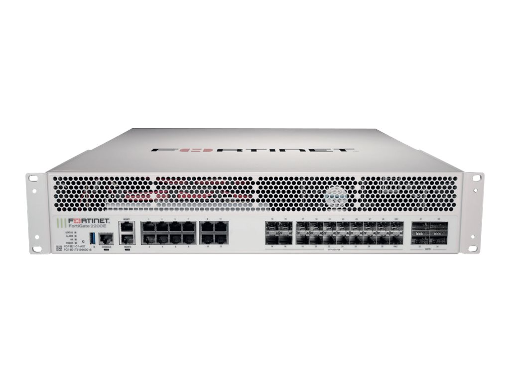 Fortinet FortiGate 2200E - security appliance