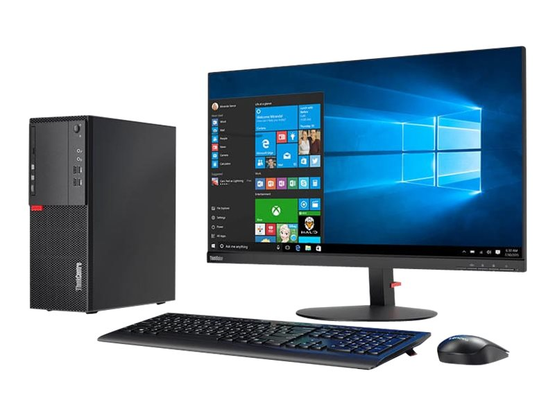 Lenovo ThinkCentre M710t - tower - Core i5 7400 3 GHz - 8 GB - SSD 256 GB - US