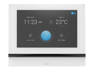 2N Indoor View Control panel with touch screen wired 10/100 Ethernet white