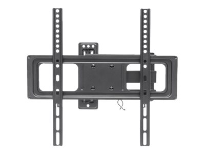 Manhattan Universal Basic LCD Full-Motion Wall Mount - Wandhalterung für gekrümmter LCD TV / Plasmabildschirm - Stahl - Schwarz - Bildschirmgröße: 81.3-139.7 cm (32