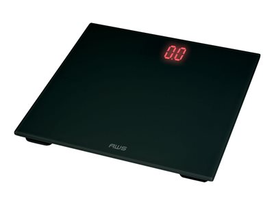 American Weigh Scales Zeta Bathroom scales black