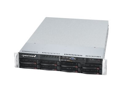 CybertronPC Imperium SVIJA122 Server rack-mountable 2U 1-way 1 x Core i3 2120 / 3.3 GHz