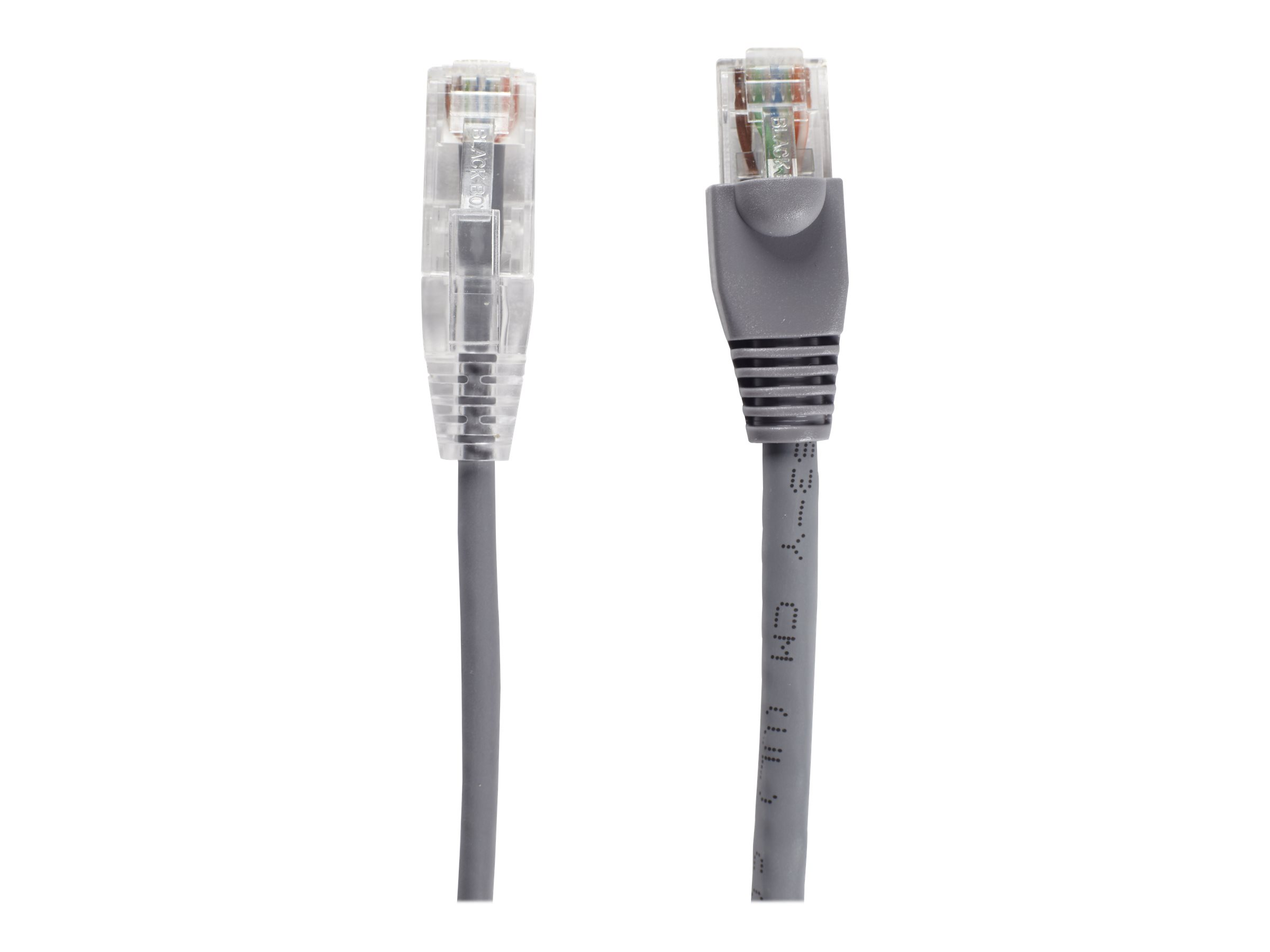Black Box Slim-Net patch cable - 61 cm - gray