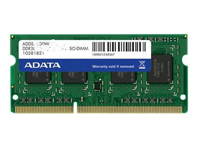 ADATA Premier Series - DDR3L - 8 GB - SO DIMM 204-PIN - 1600 MHz / PC3L-12800 - CL11