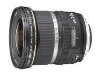 Canon EF-S - Wide-angle zoom lens - 10 mm - 22 mm - f/3.5-4.5 USM - Canon EF-S - for EOS 1000, 40, 450, 50, 500, 7D, Kiss F, Kiss X2, Kiss X3, Rebel T1i, Rebel XS, Rebel XSi