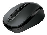 Microsoft Wireless Mobile Mouse 3500 - Mouse - right and left-handed - optical - 3 buttons - wireless - 2.4 GHz - USB wireless receiver - lochness grey