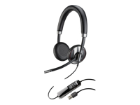 Plantronics Blackwire C725 - 700 Series - headset - on-ear - wired - active noise cancelling