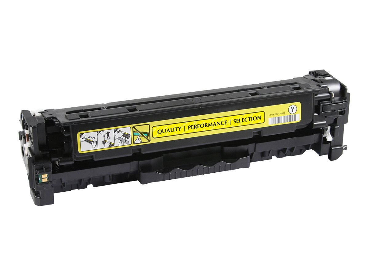 V7 - yellow - compatible - toner cartridge (alternative for: HP CF382A)