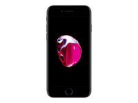 "Apple iPhone 7 - Smartphone - 4G LTE Advanced - 32 GB - GSM - 4.7"" - 1334 x 750 pixels (326 ppi) - Retina HD - 12 MP (7 MP front camera) - black"