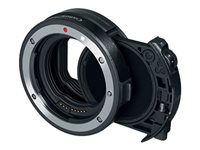 Canon Drop-in Filter Mount Adapter With Drop-in Variable ND Filter A lens adapter Canon EF