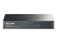 TP-LINK TL-SG1008P - Switch - unmanaged - 4 x 10/100/1000 (PoE) + 4 x 10/100/1000 - desktop - PoE