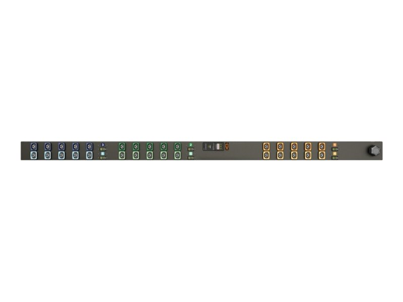 Geist Metered Upgradeable MN01D9W1-30L138-6PS15B0A10-S - power distribution unit - 17.2 kW