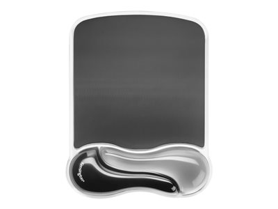 Kensington Duo Gel Mouse Pad Wrist Rest - mouse pad with wrist pillow - TAA Compliant