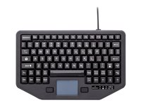 iKey Full Travel Keyboard with touchpad backlit USB