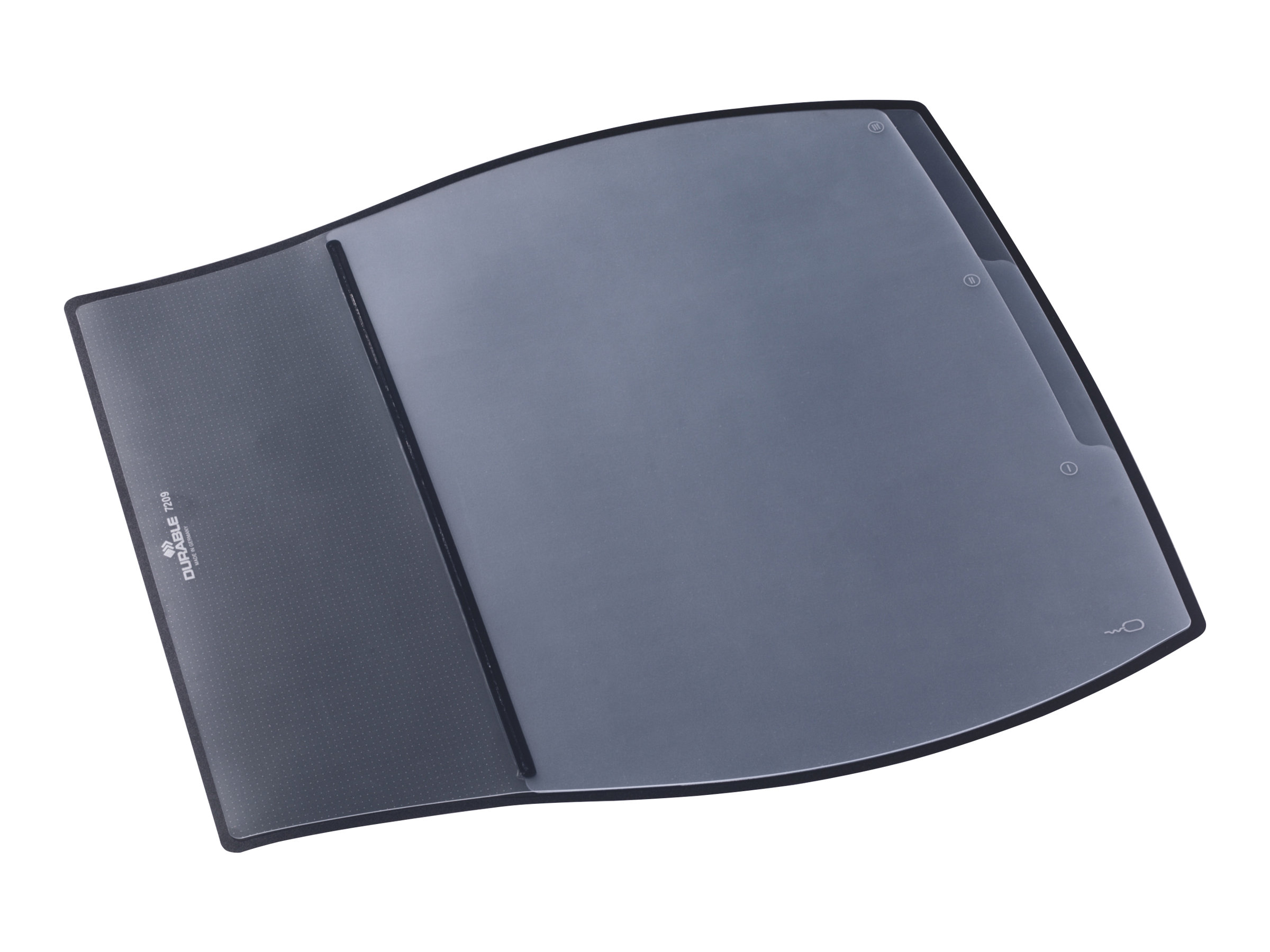 Durable Work Pad Sous Main Avec Rabat Transparent Ergonomie Au Bureau