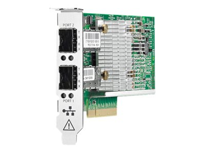 HPE 530SFP+ Network adapter PCIe 3.0 x8 low profile 10Gb Ethernet x 2