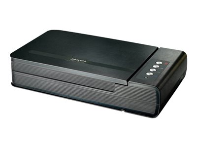 Plustek OpticBook 4800 - Flatbed scanner - A4/Letter - 1200 dpi - up to 2500 scans per day - USB 2.0
