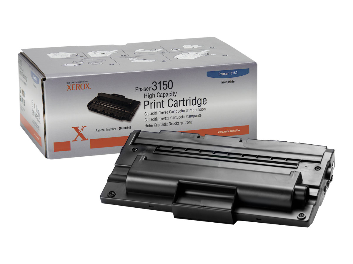Xerox High-Capacity Phaser 3150 - High Capacity - Schwarz - Original - Tonerpatrone - für Phaser 3150