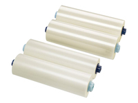 GBC EZload Laminating Roll Film - 85 micron 2-pack - glossy - Roll (30.5 cm x 150 m) lamination film