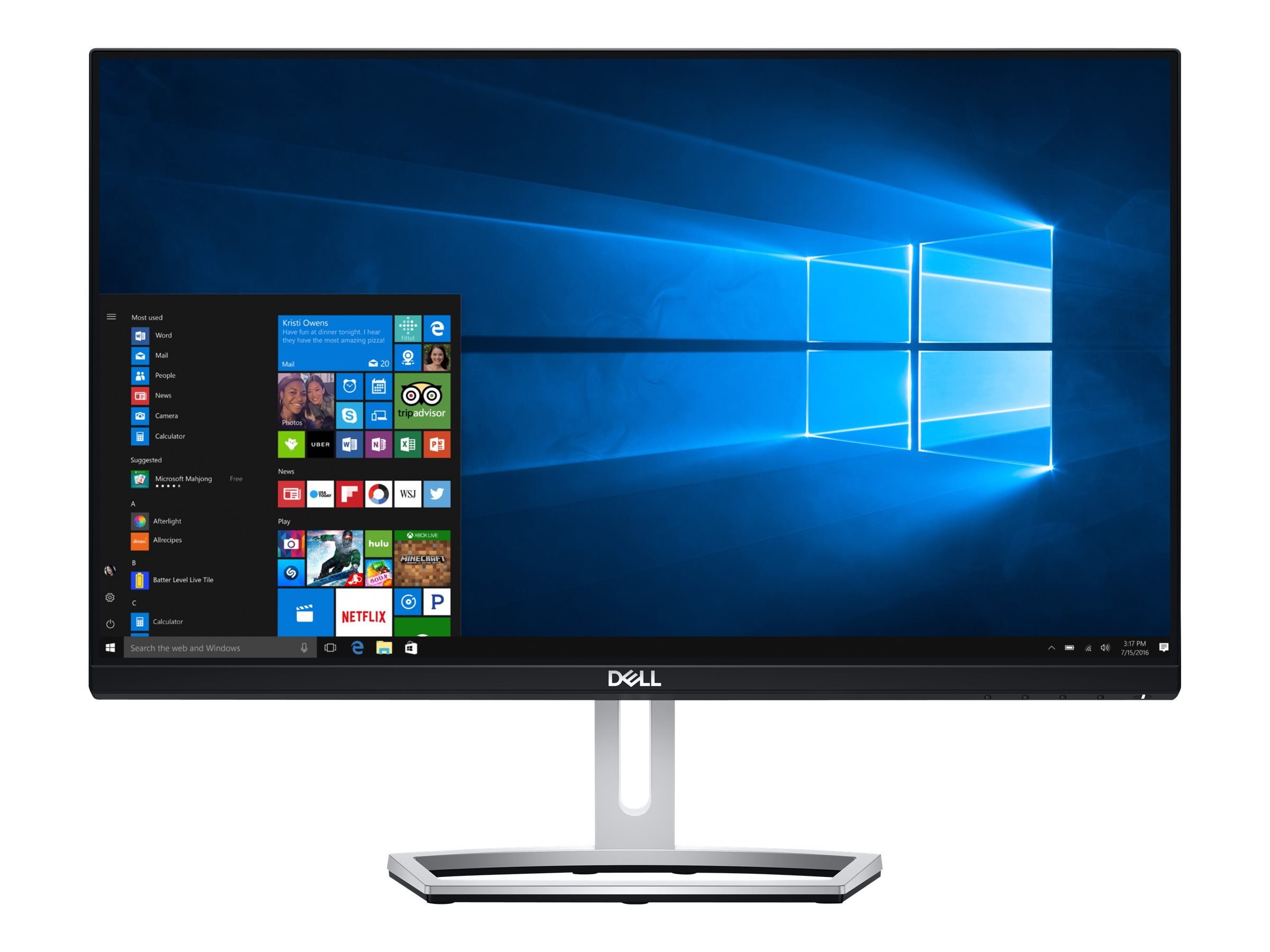 Dell S2318M - LED-Monitor - 58.42 cm (23