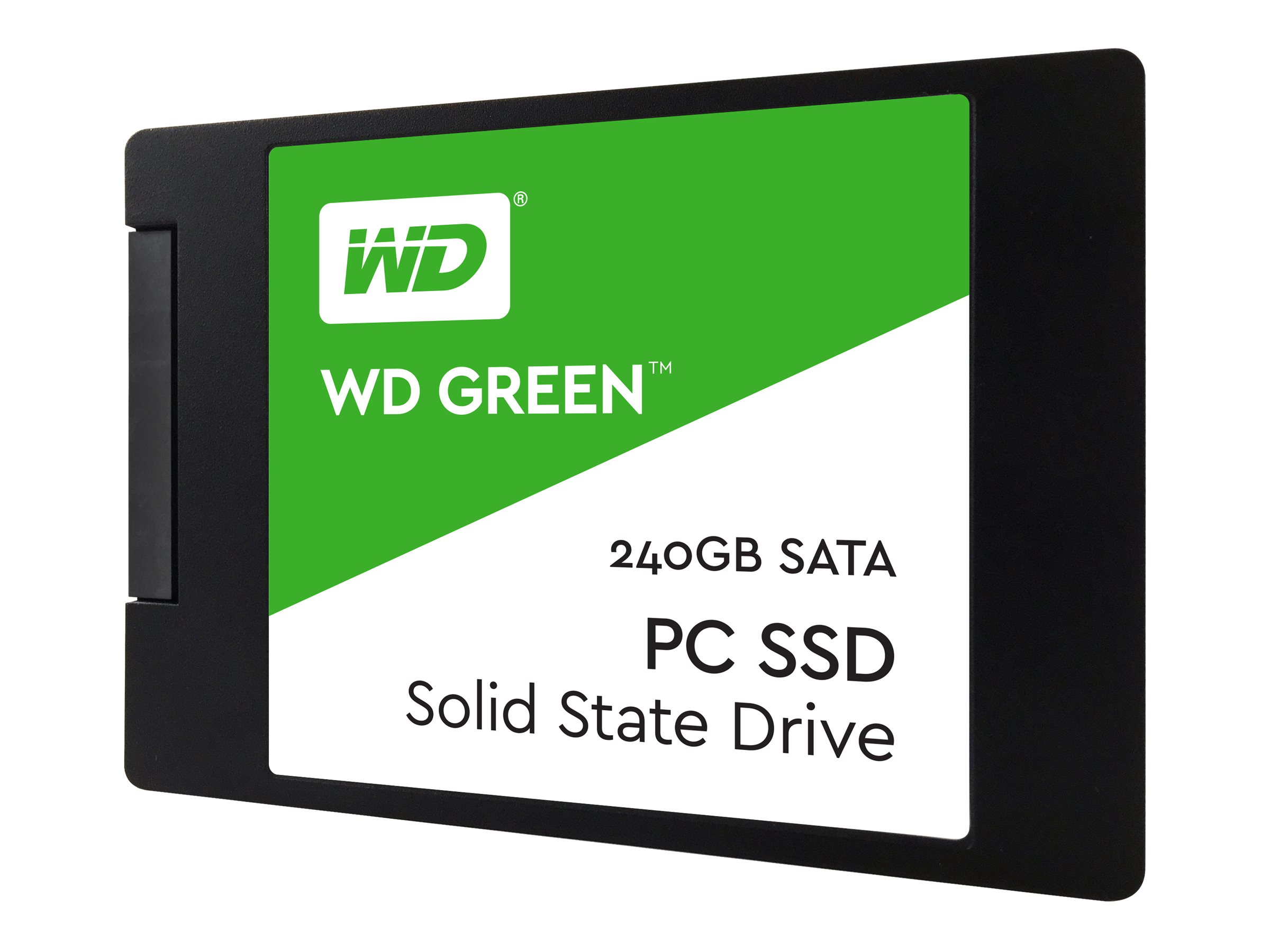 WD Green SSD WDS240G2G0A - Solid-State-Disk - 240 GB - intern - 2.5