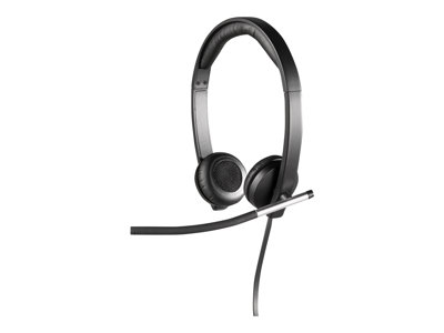 Logitech USB Headset Stereo H650e Headset on-ear wired