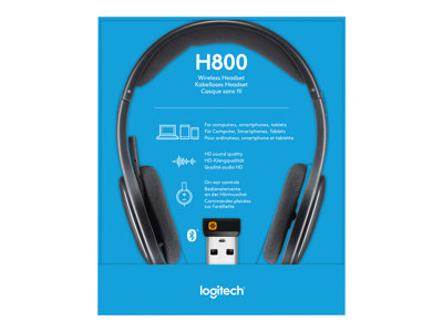 Product Logitech Wireless Headset H800 Headset