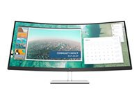 HP E344c - LED monitor - curved - 34