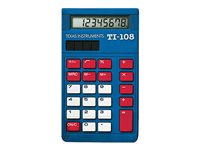Texas Instruments TI-108 Teacher Kit Desktop calculator 8 digits solar panel