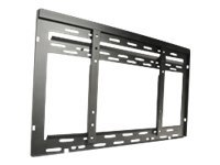 Peerless Ultra Thin Flat Video Wall Mount DS-VW650 - Wandhalterung für LCD-/Plasmafernseher - Epoxidharz - Schwarz - Bildschirmgröße: 101.6-127 cm (40