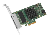 Intel I350 QP - Network adapter - PCIe low profile - Gigabit Ethernet x 4 - for PowerEdge FC430, FC830, R420, VRTX; PowerEdge R230, R330, R430, R540, R640, R740, R830