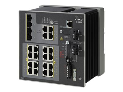 Cisco Industrial Ethernet 4000 Series Switch managed