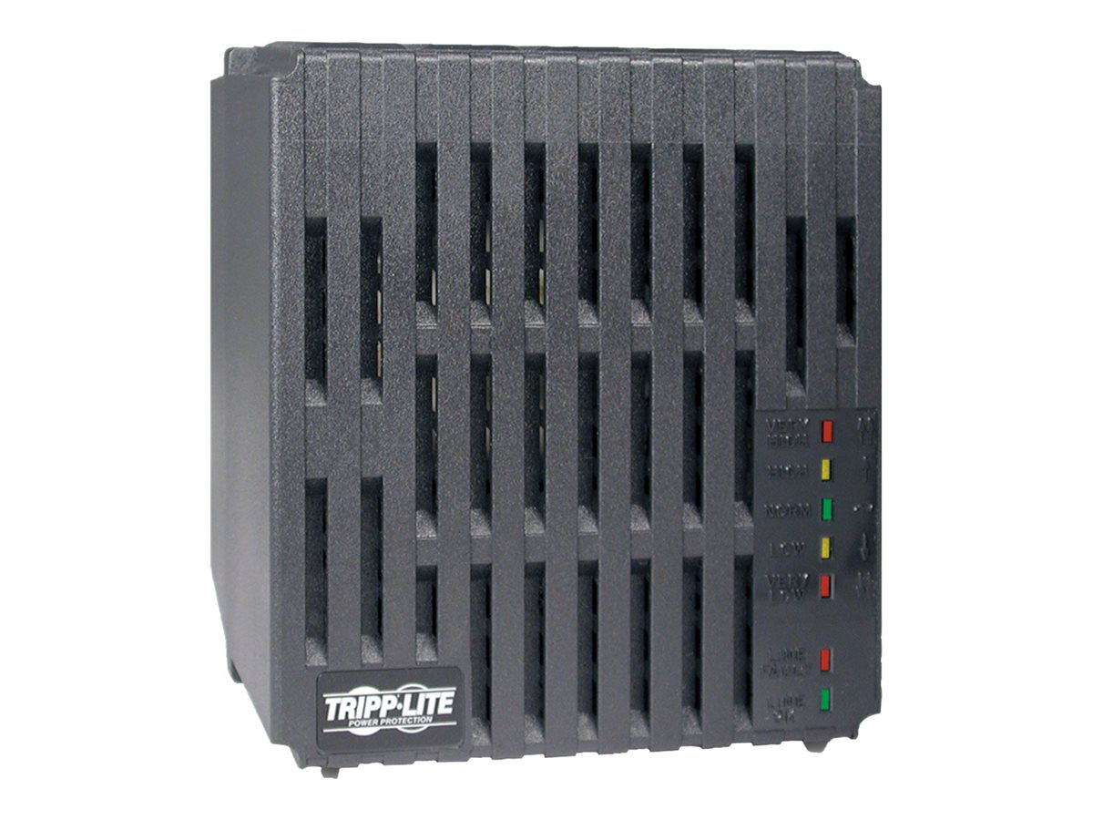 Tripp Lite 1200W Line Conditioner w/ AVR / Surge Protection 120V 10A 60Hz 4 Outlet 7ft Cord Power Conditioner - line co…