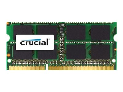 Crucial - DDR3L - 4 GB - SO DIMM 204-PIN - 1600 MHz / PC3-12800 - CL11