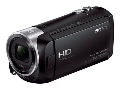 Sony Handycam HDR-CX440 Camcorder 1080p 2.51 MP 30x optical zoom Carl Zeiss